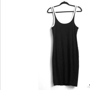 Zara Trafaluc Athletic Style Midi Dress